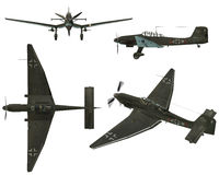 JU87D Stuka Royalty Free Stock Photo