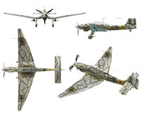 JU87D Stuka Stock Photos