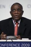 Juan Atta muele al presidente de Ghana fotos de archivo libres de regalías