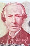 Juan Bautista Alberdi portrait Royalty Free Stock Photo