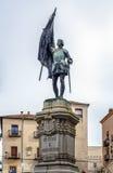 Juan Bravo in Segovia Royalty Free Stock Image