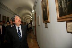 Juan C. Tsang - espec. financiera de secretaria Hong-Kong Fotografía de archivo