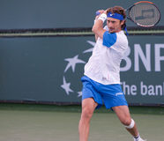 Juan Carlos Ferrero bij 2010 BNP Open Paribas Stock Fotografie