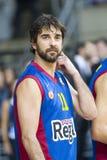 Juan Carlos Navarro of FC Barcelona Stock Image