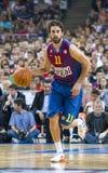 Juan Carlos Navarro of FC Barcelona Stock Photos