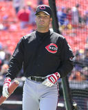 Juan Castro, Cincinnati Reds Fotografia Stock Libera da Diritti