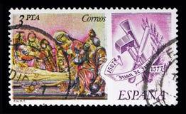 Juan de Juni, serie dos escultores e dos pintores, cerca de 1978 Imagens de Stock