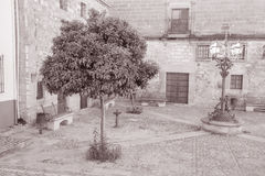 Juan de Valencia Square, Ubeda, Andalusia, Spain Royalty Free Stock Images