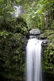 Juan Diego Falls. Juan Diego Waterfalls in El Yunque National Rainforest in Puerto Rico stock images