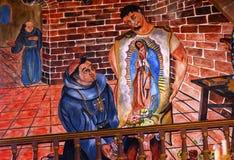 Juan Diego Guadalupe Painting Parroquia Church San Miguel de Allende Mexico Photo stock