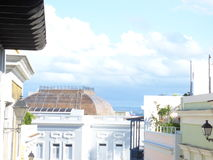 juan gammala Puerto Rico san Arkivbild