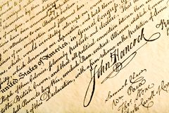 Juan Hancock Fotos de archivo