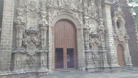 Juan Lerdo de Tejada Library Royalty-vrije Stock Foto's