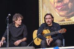 Juan Lorenzo-trio Royalty-vrije Stock Afbeeldingen
