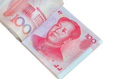 Juan lub RMB, Chińska waluta Zdjęcie Stock