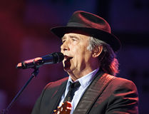 Juan manuel Serrat  and Juaquin Sabina  tour 2012 Royalty Free Stock Photo