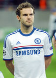 Juan Mata of Chelsea. Chelsea's Juan Mata pictured before the UEFA Champions League group E game between Steaua Bucharest and Chelsea FC, on National Arena from Stock Photo