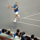 Juan McEnroe en acciones Fotos de archivo