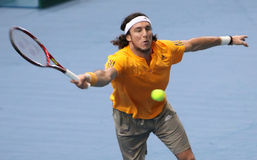 Juan MONACO (ARG) at BNP Masters 2009 Stock Photography