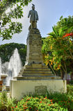 Juan Morel campos statua - Ponce, Puerto Rico Zdjęcia Royalty Free