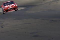Juan Pablo Montoya drives through the Esses Stock Image