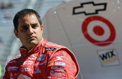 Juan Pablo Montoya Sprint Cup Series Food City 500 Stock Images