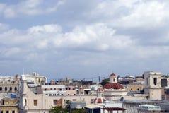 juan Puerto Rico rooftops san Arkivfoton