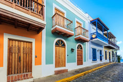 juan Puerto Rico san Arkivfoton