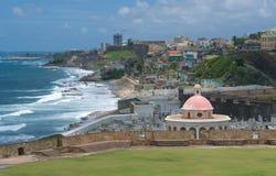 juan Puerto Rico san Arkivbild