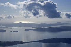 ήχος Juan puget SAN νησιών Στοκ Φωτογραφία