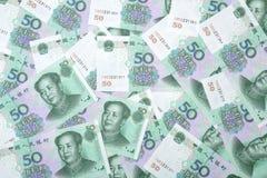 50 Juan RMB w Chiny Fotografia Stock