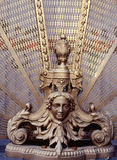 juan san för ca-capistranocopyrighgoddess skulptur royaltyfria bilder