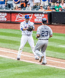 Juan Santana del NY Mets Imágenes de archivo libres de regalías