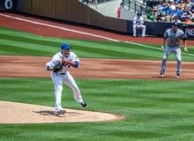 Juan Santana del NY Mets Foto de archivo