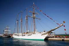 Juan Sebastian de Elcano Royalty Free Stock Photos