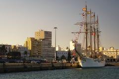 Juan Sebastian Elcano Cadiz Spain royalty free stock photos