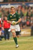 Juan smit. Springbok rugby player Stock Image