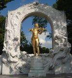 Juan Strauss - Viena Fotografía de archivo libre de regalías