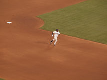 Juan Uribe rounds bases after hitting homerun Stock Image