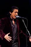 Juan Valderrama in concert Royalty Free Stock Photos