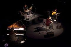Juan Valderrama in concert Royalty Free Stock Photography