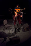 Juan Valderrama in concert Stock Images