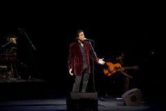 Juan Valderrama in concert Stock Photography