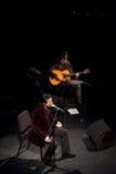 Juan Valderrama in concert Royalty Free Stock Images