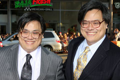 Juan y Matthew Yuan Observe y premier del informe fotos de archivo libres de regalías