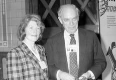 Juan y Sarah Biffen fotografía de archivo