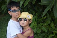 Juan y Yoko Fotografía de archivo