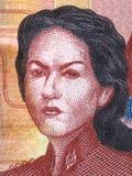 Juana Azurduy de Padilla portrait royalty free stock photos