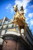 Juana de Arco Foto de archivo libre de regalías
