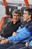 Juande Ramos head coach of Dnipro team Royalty Free Stock Image